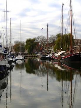 enkhuizen holland ships