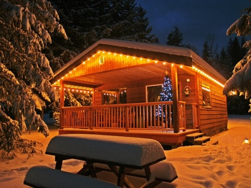 enlighted illuminated cabin