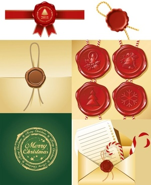 envelope and seal vector