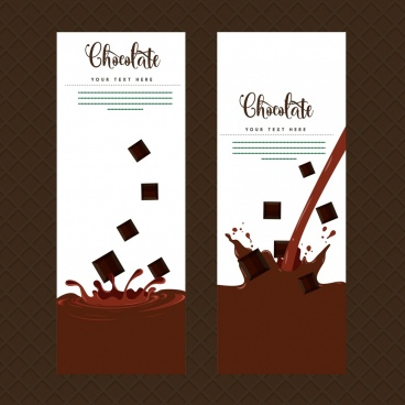 envelope cover templates splashing chocolate decoration