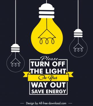 environment notice board banner classic flat lightbulbs sketch