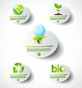 environmental icon vector 2 lowcarbon life