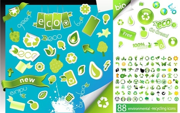 environmental icon vector series