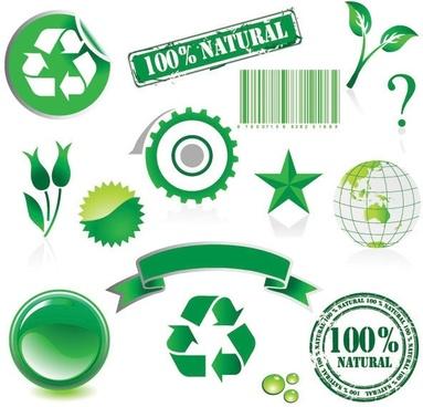 environmental theme vector