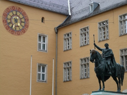 equestrian statue ludwig i king