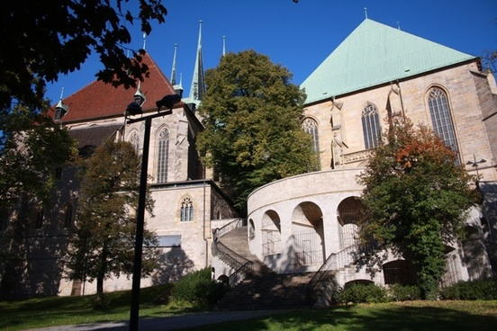 erfurt dom building