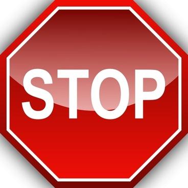 Ernes Stop clip art