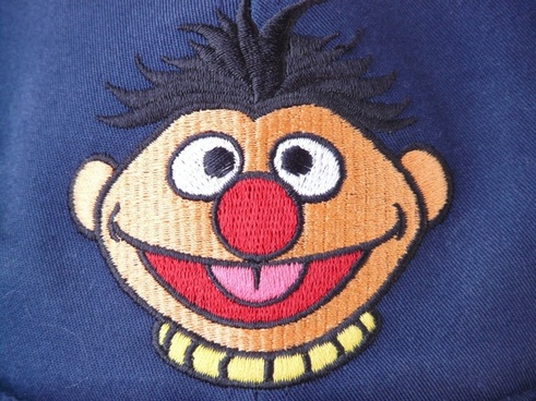 ernie sesame street cartoon character