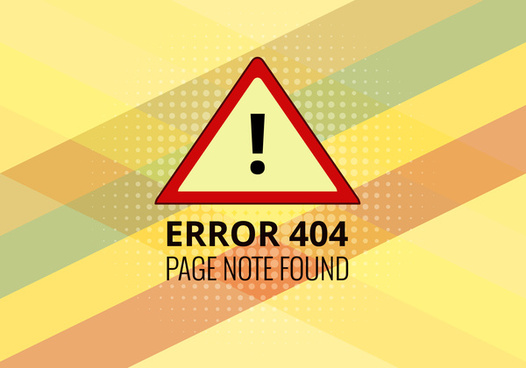 error 404 page not found templates
