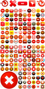 error creative icons vector