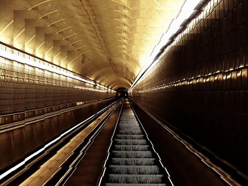 escalator stairs architecture
