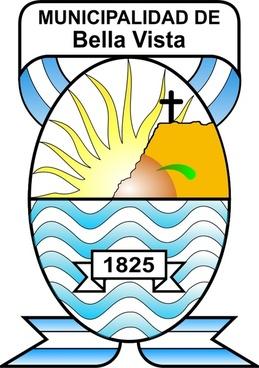 Escudo de la Municipalidad de Bella Vista - Corrientes - Argentina