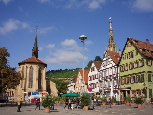 esslingen germany plaza