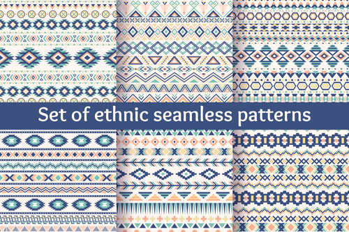 ethnic ornament pattern seamless vector