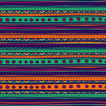 ethnic style tribal patterns graphics vector