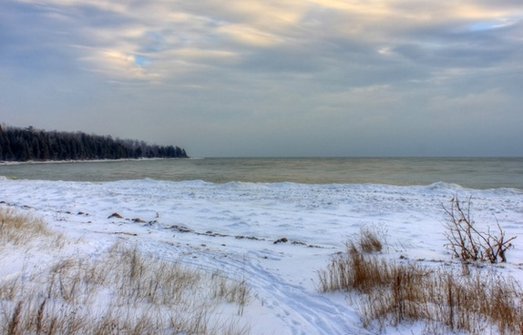 europa bay at newport state park wisconsin