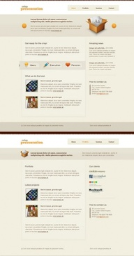europe and the united states of tea web design templates psd