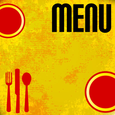 europe style cover menus design vector set