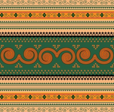 traditional fabric pattern classic symmetric seamless decor