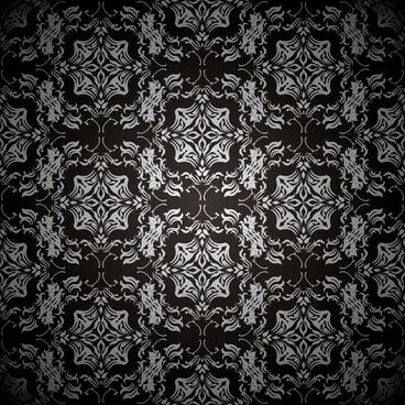 traditional pattern template elegant dark symmetric decor