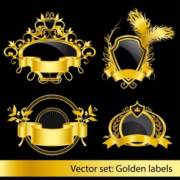 labels templates elegant luxury 3d decor european symmetric