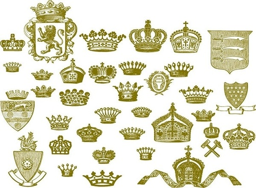 european crown series vector
