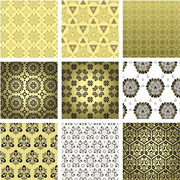 european fine background pattern 02 vector