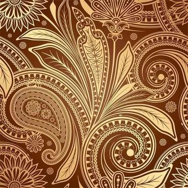 European fine pattern background01