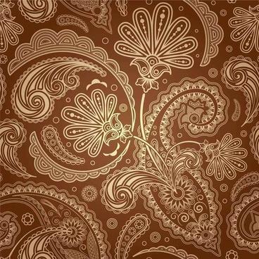 European fine pattern background02