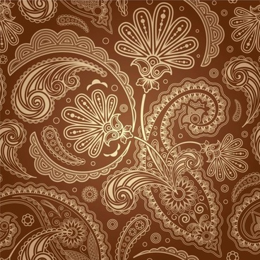 european fine pattern background 01 vector