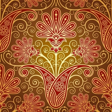 european fine pattern background 02 vector