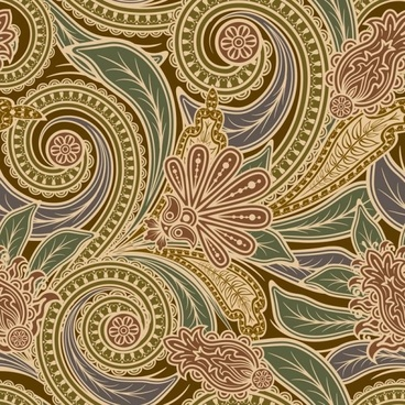 european fine pattern background 03 vector