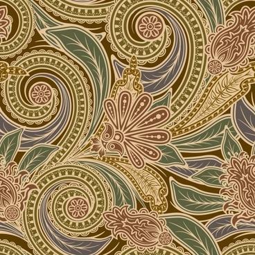 european fine pattern background 03 vector