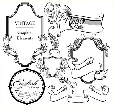 european gorgeous classic lace pattern vector