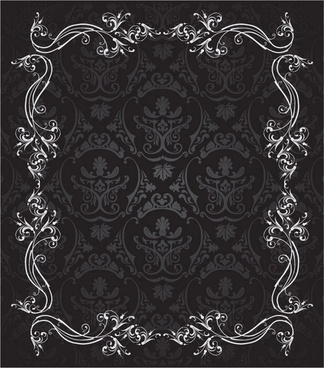 european gorgeous lace vector