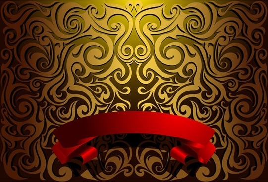 european gorgeous pattern vector background