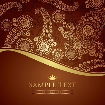 european gorgeous pattern vector particular
