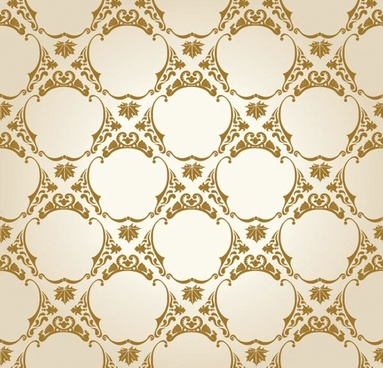 european gorgeous shading pattern vector 4