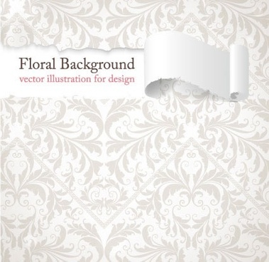 ripped paper background bright white elegant decor
