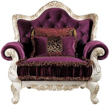 european gorgeous sofa single seat beautifully carved pattern