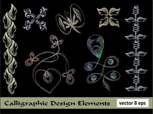 european lace pattern line draft 01 vector