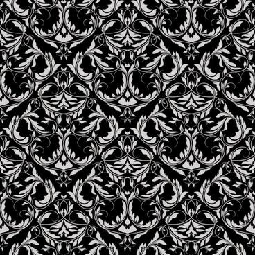 european pattern background 01 vector