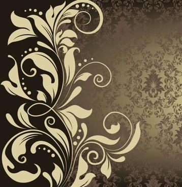 european pattern background 05 vector