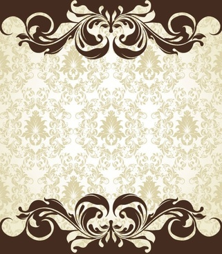 european pattern background 06 vector