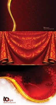 decorative background templates elegant classical fabric decor