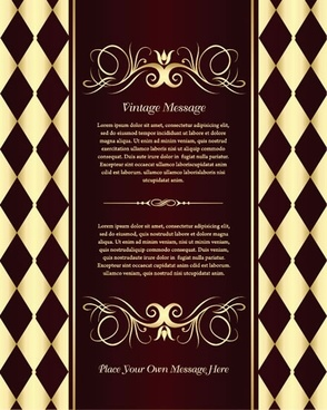 decorative pattern background elegant luxury european symmetric decor