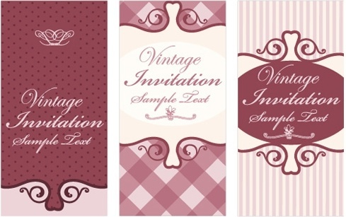 invitation card templates elegant classical decor