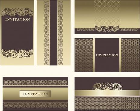 wedding templates elegant european classic decor