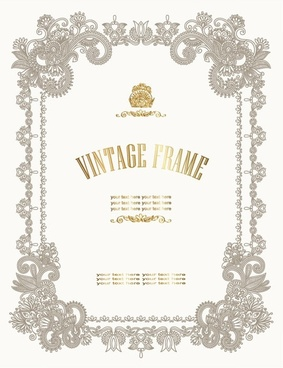 Certificate template free vector download 13916 free vector for european pattern certificate template 01 vector yelopaper Choice Image