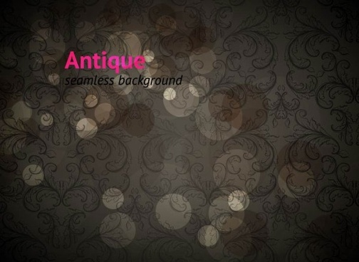 european pattern shading background 03 vector